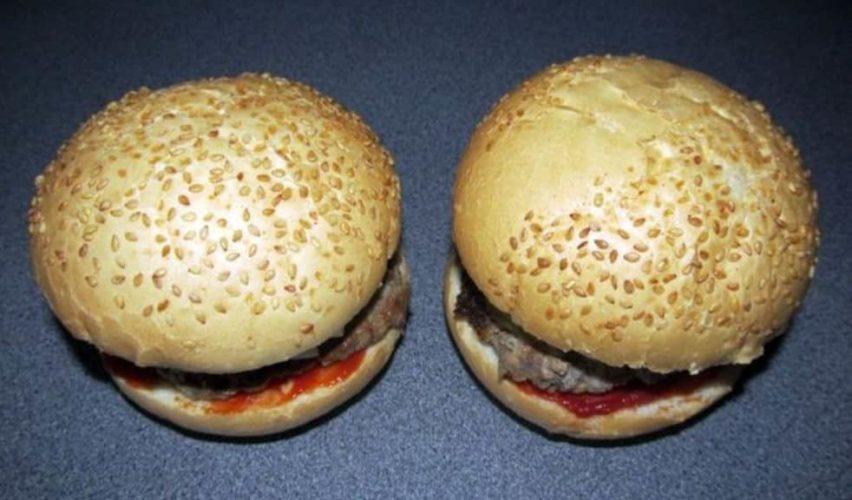 Домашние гамбургеры в микроволновке