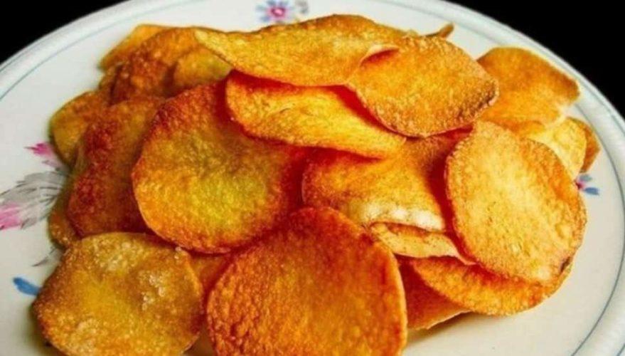 Рецепт чипсов в микроволновке