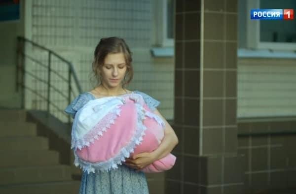 """Кадр из сериала """"Некрасивая"""" 2021. Фото: Россия-1"""