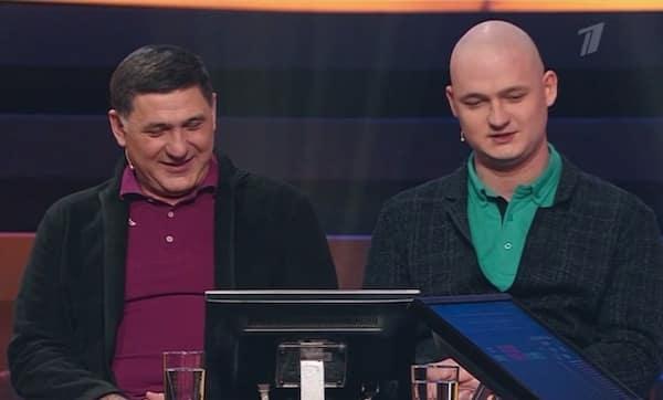 Сергей Пускепалис и Глеб Пускепалис. Фото: Первый канал