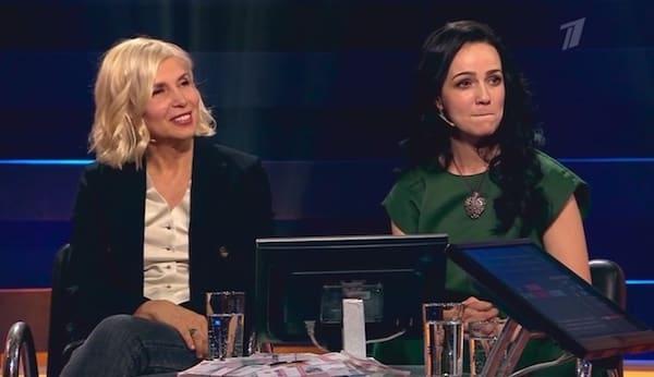 Алена Свиридова и Валерия Ланская. Фото: Первый канал